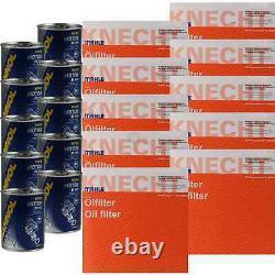 10x Original Mahle / Knecht Filtre Ox 205/2D 10x Sct Moteur Flush Rinçage de