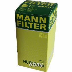 10x Original Mann Filtre à Huile Hu 938/4 X+ 10x Sct Moteur Flush Rinçage de