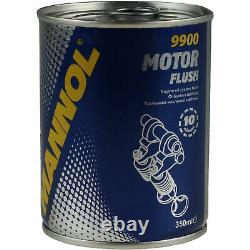 10x Original Mann Filtre à Huile ZR 700 X + 10x Sct Moteur Flush Rinçage de