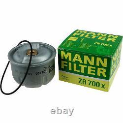 18x Original Mann Filtre à Huile ZR 700 X + 18x Sct Moteur Flush Rinçage de