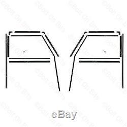 2 Porte avant Fenêtre Canal Feutre Guide Joint Kit Défenseur 90 & 110 1984 à