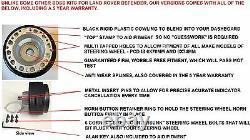 300MM SPORTS Course Direction Roue Et Boss Kit Pour Land Rover Defender 48 Dents