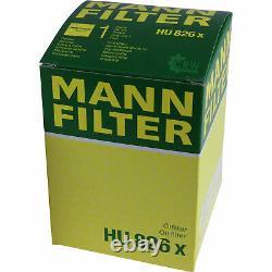 7L MANNOL 5W-30 Break Ll + Mann-Filter Land Rover Discovery IV La 3.0 Td 4x4