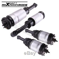 Air suspension Shock Strut 2 front + 2 rear kit for Land Rover Discovery LR3 LR4