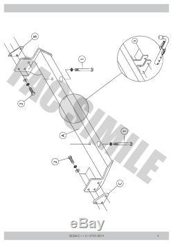 Attelage Démontable + 13b C2 Kit pour Rover FREELANDER 2-4WD 98-07 03024/C B3