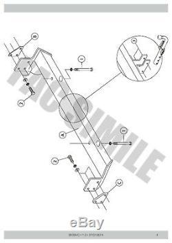 Attelage Démontable + 13b C2 Kit pour Rover Freelander 2-4WD 98-07 03024/C E3