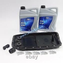 Automatikegetriebe Carter D'Huile Service Inclus 10L Atf Vidange Pour BMW 5er
