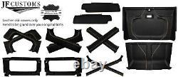 Beige Surpiq Housses Cuir Pour Defender 90 83-06 Interieur Upholstery Haut Kit