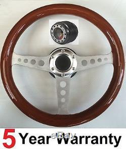 Bois Volant en Bois et Boss Kit Moyeu pour Land Rover Defender 48 Dents