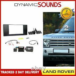 CTKLR04 Double din Carénage Direction Antenne Fixation Kit Pour Land Rover Range