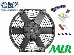 Davies Craig 16 INCH Radiateur Électrique / Moteur Refroidissement Fan & Kit