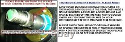 En Bois Direction Roue Et Boss Kit Moyeu Pour Land Rover Defender 48 Dents