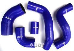 Freelander TD4 Refroidisseur Turbo Air Admission Silicone Tuyau Kit Rouge