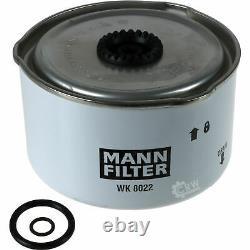 Huile moteur 6L MANNOL Diesel Tdi 5W-30 + Mann Land Rover Discovery IV3.0