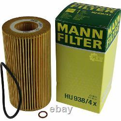 Huile moteur 9L MANNOL Defender 10W-40 + Mann-Filter Land Rover Range III Lmn