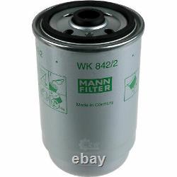 Huile moteur 9L MANNOL Defender 10W-40 + Mann+Hummel Pour Land Rover Gamme II LP