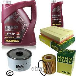 Inspection Set MANNOL 6 L Energy Combi Ll 5W-30 + Mann filtre 10921531