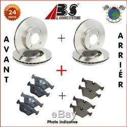 Kit complet disques et plaquettes avant + arrière Abs LAND ROVER DISCOVERY IV