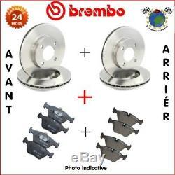 Kit complet disques et plaquettes avant + arrière Brembo LAND ROVER FREELAND cvr