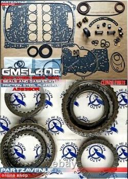 Kit disques de friction & Kit joints complet 5L40E, 2WD, GM5L40E BMW LAND ROVER