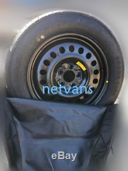Kit roue de secours (galette)17'' LAND ROVER EVOQUE avec cric cléf et sac