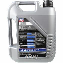 LIQUI MOLY 10 Litre 10W-40 huile moteur + Mann Pour Land Rover Range Iiilm 4.4