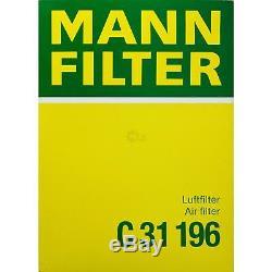 LIQUI MOLY 10 Litre 5W-30 huile moteur + Mann Filtre Luft Paketland Rover