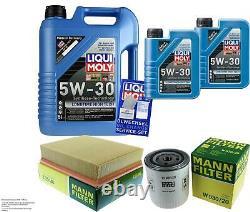 LIQUI MOLY 7L 5W-30 huile moteur + Mann Filterpaketland Rover Discovery Iilt