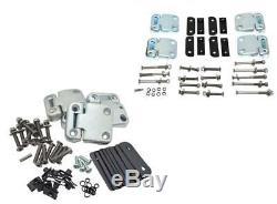 Land Rover Defender 110 4 Portes Charnière & Kit de Boulons en Acier Inoxydable