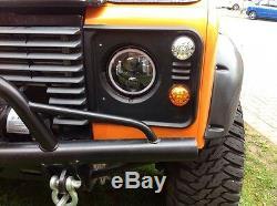 Land Rover Defender Amélioré Wipac LED Clignotant Kit & Relais Couleurs