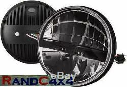 Land Rover Défenseur LED 7 Phare Kit Amélioration Inclus Côté Feux 90 110 130