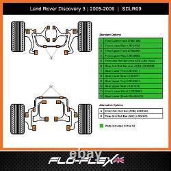 Land Rover Discovery 3 Moyeu Kit Avant + Arrière + Arb Polyuréthane (2004-09)