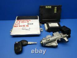 Land Rover Freelander 1.8 Kit Calculateur Moteur Nnw500101 Nnn100710 Ywc 500261