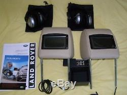 Land Rover Freelander 2 Siège Arrière Divertissement écrans DVD Kit LR004180