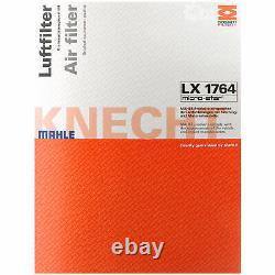 MAHLE Carburant Kc 241D Intérieur Lak 62 Air LX 1764 Filtre à Huile Ox 196/1D1