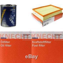 MAHLE / KNECHT Set D'Inspection Ensemble de Filtres SCT Lavage moteur 11611391
