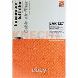 MAHLE / KNECHT Set D'Inspection Ensemble de Filtres SCT Lavage moteur 11614926