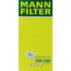 MANN-FILTER Set Air Intérieur Huile Carburant Land Rover Range III Lm 3.6 Td 8