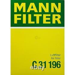 MANN-FILTER Set Land Rover Range Sport Ls 2.7 Tdvm 4x4 Discovery III Taa Td