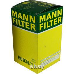 MANNOL 6 L Energy Premium 5W-30 + Mann-Filter Land Rover Discovery IV La 2.7 Td
