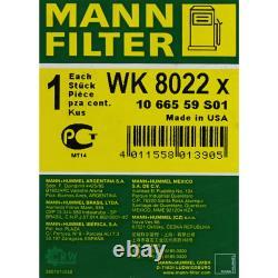 MANNOL 6L Extreme 5W-40 huile moteur + Mann-Filterland Rover Découverte Ivla