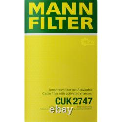 MANNOL 6L Extreme 5W-40 huile moteur + Mann-Filterland Rover Discovery Ivla 3.0