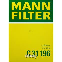 MANNOL 6L, Extreme 5W-40 huile moteur + Mann-Filterland Rover Discovery Ivla 3.0