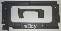 Noir Vitre Arrière Contour Garniture Kit pour Land Rover Defender 90 &110-da1643