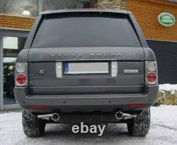 Ouverture D'Échappement Tuyau Range Rover Autobiography Lm 2002-2012 100mm Kit
