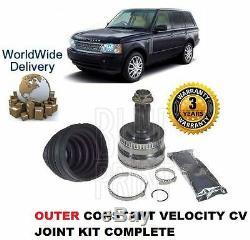 Pour Land Range Rover L322 2002- avant Extérieur Constant Velocity Kit Cardan
