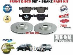 Pour Land Range Rover + Sport 2002-2009 avant 344MM Kit Disque Frein +