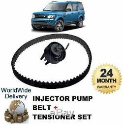 Pour Land Rover Discovery 2.7TD 2009-2012 Injecteur Pompe Courroie + Tendeur Kit