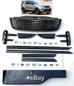 Pour Land Rover Discovery 5 2017+ Complet Noir Pack Bord Kit Amélioration