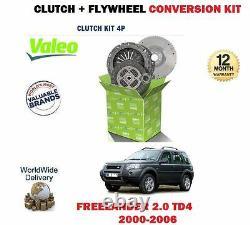 Pour Land Rover Freelander 2.0 TD4 1999- Neuf Volant + Embrayage Kit